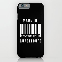 Made In Guadeloupe iPhone Case