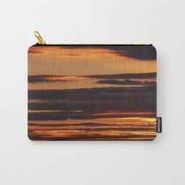 Golden Linings Sunset Carry-All Pouch