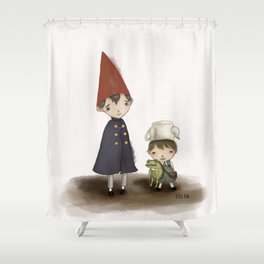 Wirt and Greg  Shower Curtain