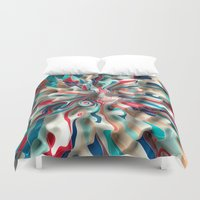 weird Duvet Covers featuring Weird Surface by Danny Ivan