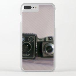 Kodak camera collection Clear iPhone Case