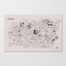 Folie Canvas Print