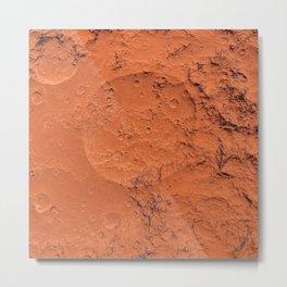 Mars surface Metal Print