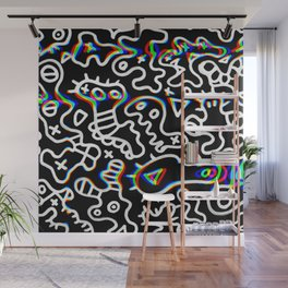Hypnos microbes Wall Mural