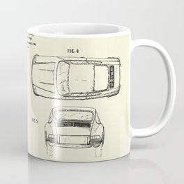 Automobile Porsche-1964 Coffee Mug