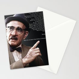 What do you know from funny, ya bastard? Stationery Cards