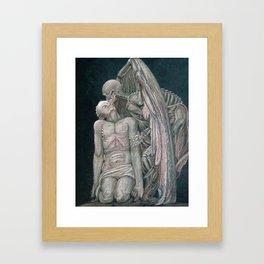 Kiss of Death Framed Art Print