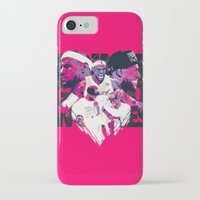 lebron iPhone & iPod Cases featuring LEBRON 2 TIME CHAMPION by mergedvisible