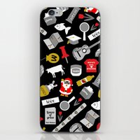 paper towns iPhone & iPod Skins featuring Paper Towns Print by Yasmin Rahman