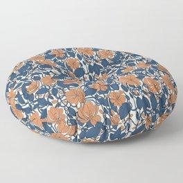 Floral Garden Floor Pillow