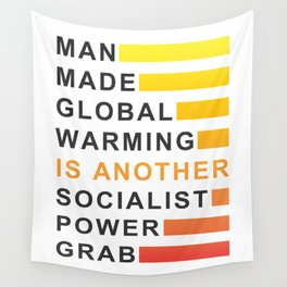 Socialist Power Grab Wall Tapestry
