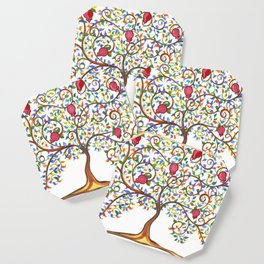 Pomegranate Tree Coaster