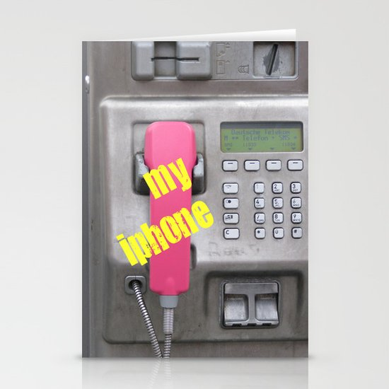 The Phone Stationery Cards