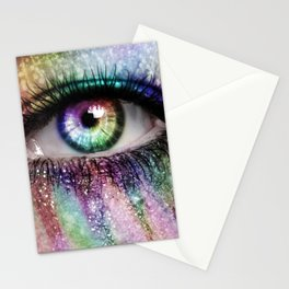 Bleeding Rainbow Stationery Cards