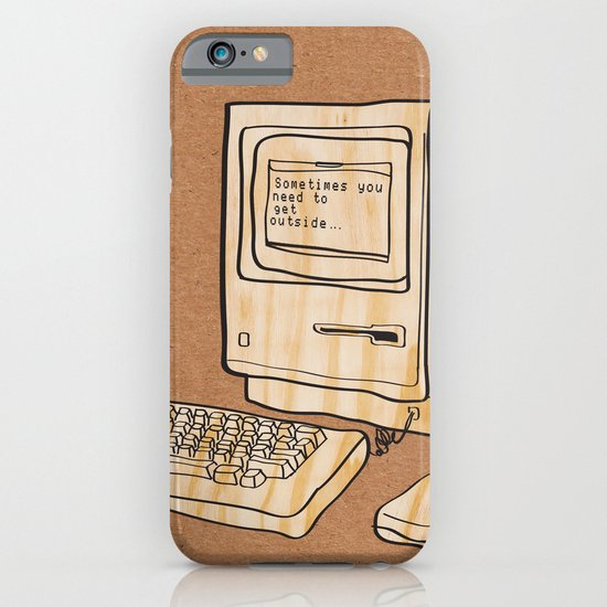 Sometimes you need to get outside iPhone & iPod Case