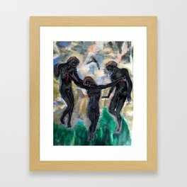 THE PULL by T'Mculus' Soul Framed Art Print
