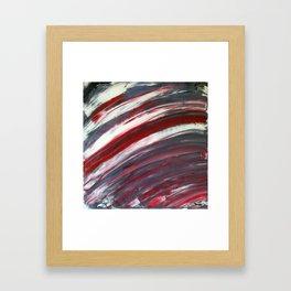 Swipe Framed Art Print