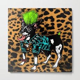 Punk Dog Metal Print