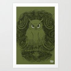 Owline Art Print