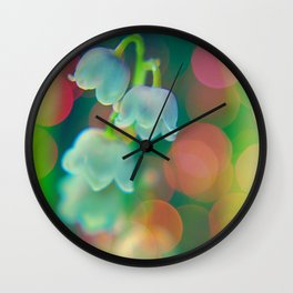 lilly of the valley Wall Clock