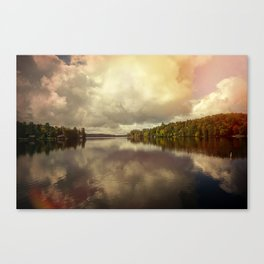 Adirondack Lake Canvas Print
