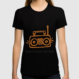 Dance to your Own Beat Boom Box T-shirt