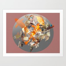 Water Borne Art Print