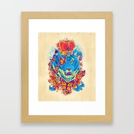 The Siberian Monarch Framed Art Print