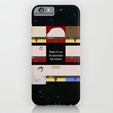 Maybe it's not the Destination that matters - square - Star Trek: Voyager VOY  trektangle minimalist iPhone 6s Slim Case