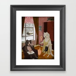 After Christmas Framed Art Print