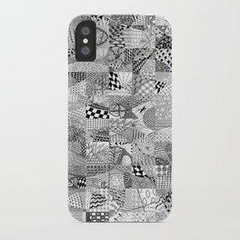 Doodling Together #1 iPhone Case