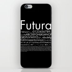 Futura (White) iPhone Skin