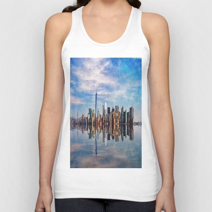New York Reflections Unisex Tank Top