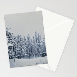 Mammoth Lakes: Center Weighted Blue Stationery Cards
