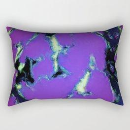 Soft blue shatter Rectangular Pillow