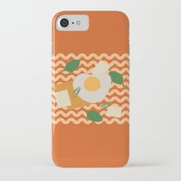 ramen iPhone & iPod Cases featuring Instant Ramen by Hesuh Park