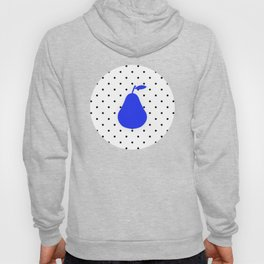 Polka dot & blue pear Hoody