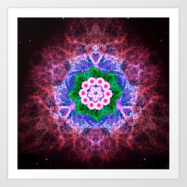 Speck at the Center Art Print
