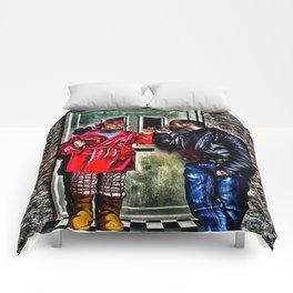 Here Missus Comforters
