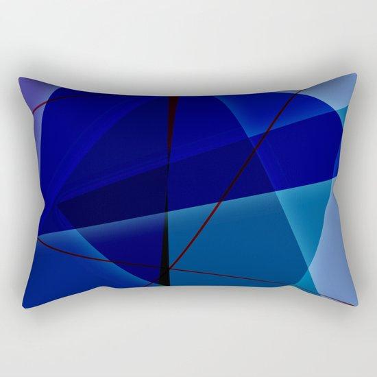 Abstract #420 Rectangular Pillow