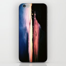 Snowy Sunset iPhone Skin