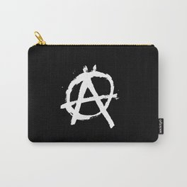 Anarchy Anarchists Black Carry-All Pouch