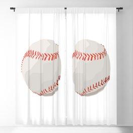 Baseball ball Blackout Curtain