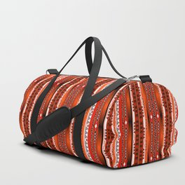 Ethnic stripes. Tribal pattern Indians. Duffle Bag