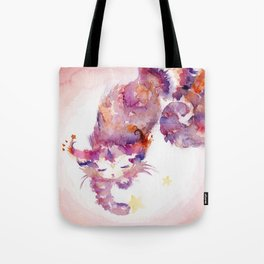 Spiral The Star-Catcher Tote Bag