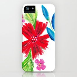 Vintage Floral Spray iPhone Case