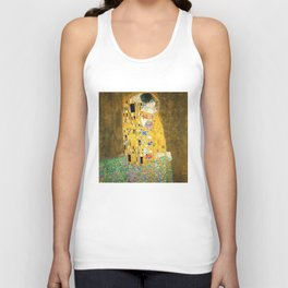 Gustav Klimt The Kiss Unisex Tank Top