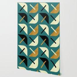 MCM Shroom Wallpaper