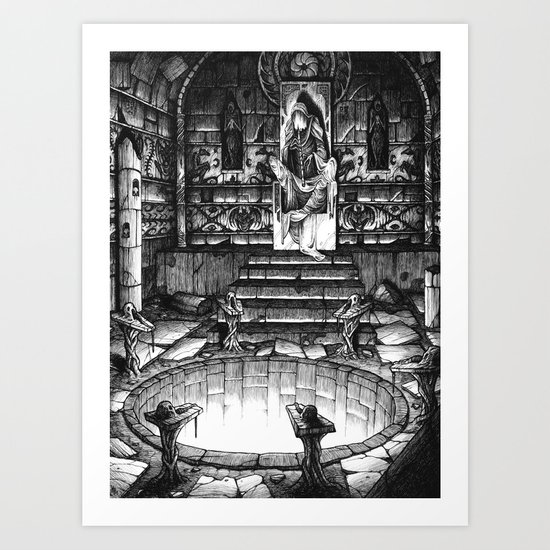 The High Priest Art Print