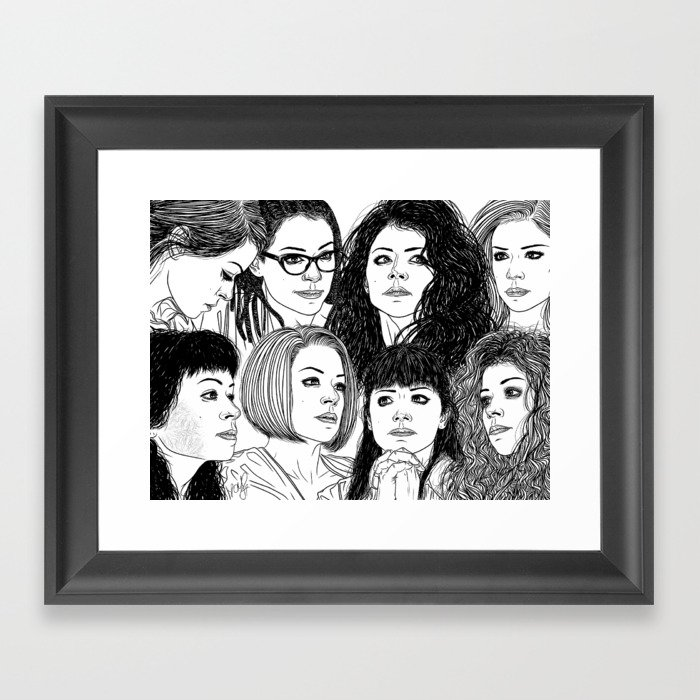 Orphan Black: Graeme\'s S5 Wrap Commission Framed Art Print by ...